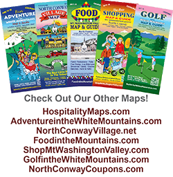 Mt. Washington Valley &  North Conway, NH Map and guides