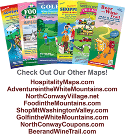 North Conway Map & Guide