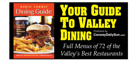 2018 Conway Daily Sun Dining Guide